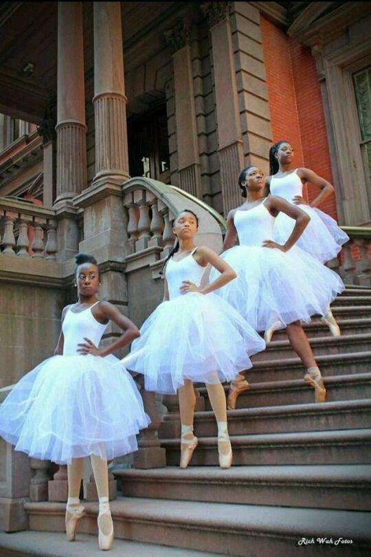 Beautiful African ballerinas