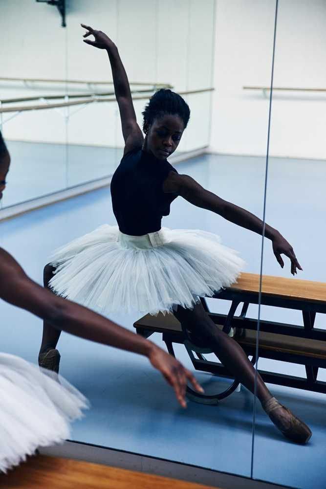 Black female Professional dancer