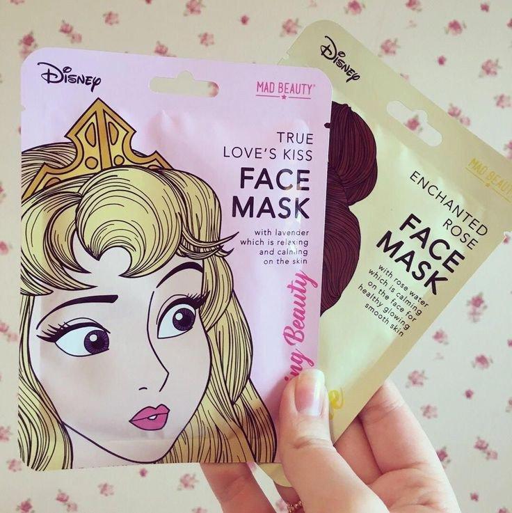 Using Disney face mask for kids