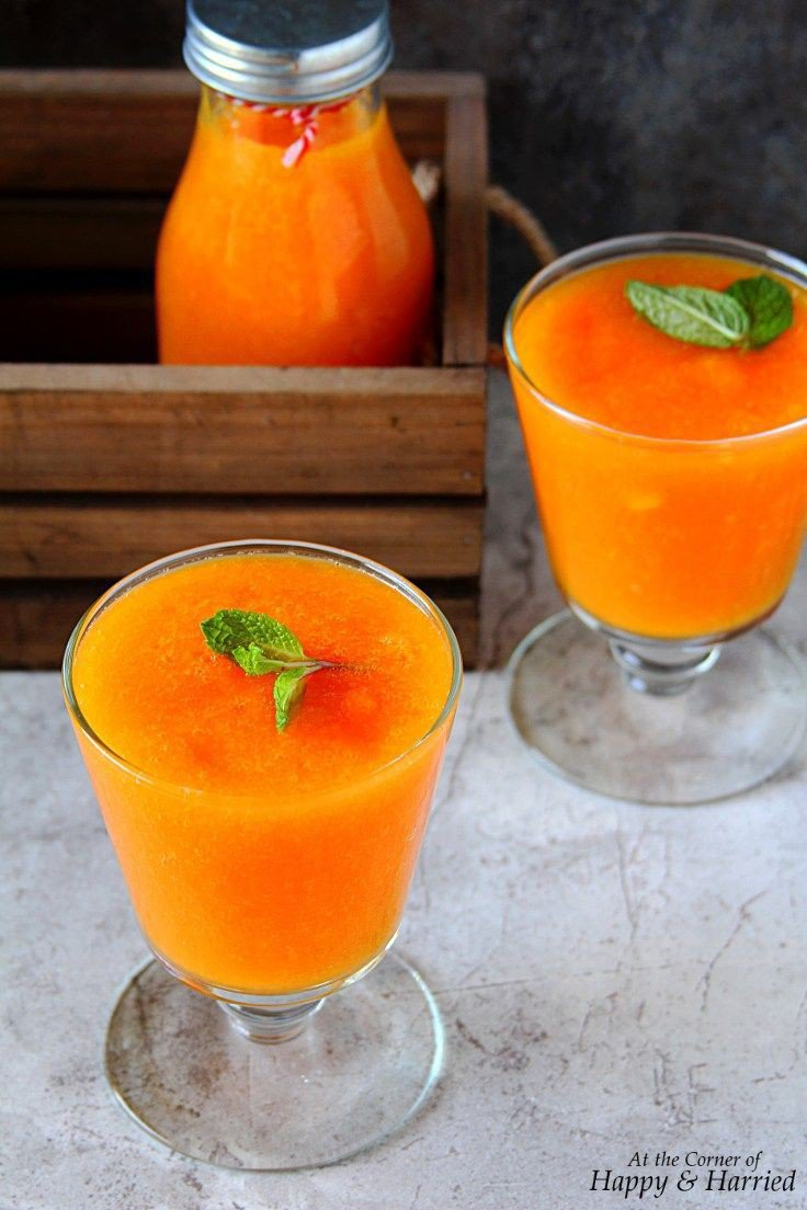 Carrot juice for lighter skin