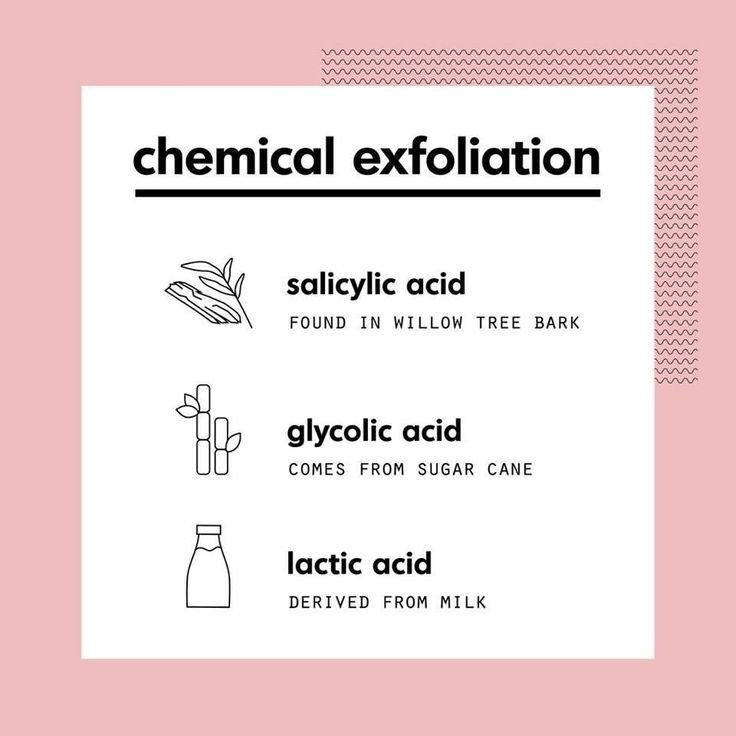 Types of chemical exfoliation
