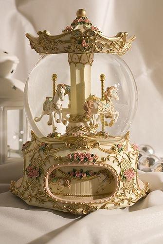 Victorian snow globe