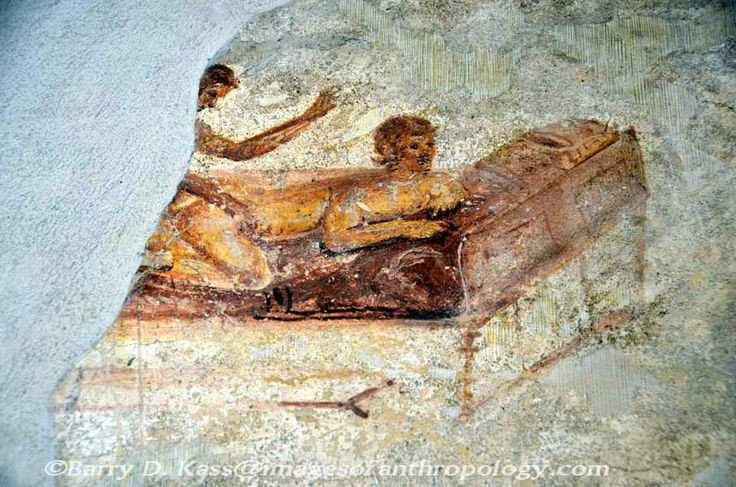 Erotic painting from pompeii
