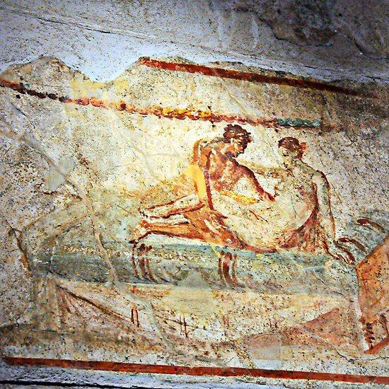 Erotic paintings in pompeii