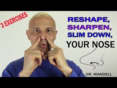 Get slim nose without surgery